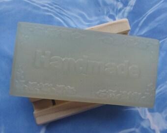 EGYPTIAN MUSK GLYCERIN Clean Woodsy Vegan Handmade Soap 5 Oz Economy Bar-20% More Soap than Pretty