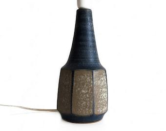 Vintage //  Michael Andersen // Marianne Starck // Table lamp // Danish stoneware // Danish modern // Denmark
