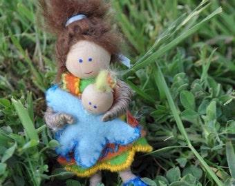 Custom Dollhouse Dolls