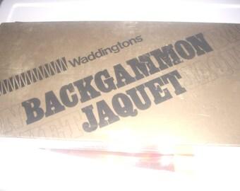 Vintage BACKGAMMON GAME
