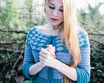 Ariel Cardigan Crochet Pattern