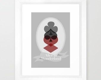 Disney's Alice in Wonderland Minimalist Poster