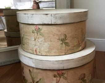 Decorative hat boxes