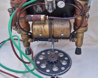 Steampunk Jetpack -Atlas Industries Mark 3 0007 Production Date-1899