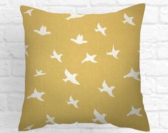 Pillows, white, maize yellow.  Pillow, Decorative Pillows, Pillow Covers, Decorative Pillows, Cushion, Pillows, Throw Pillow,   Pillow