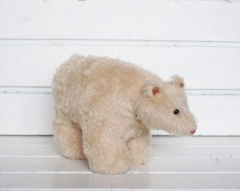 Spirit Bear soft sculpture