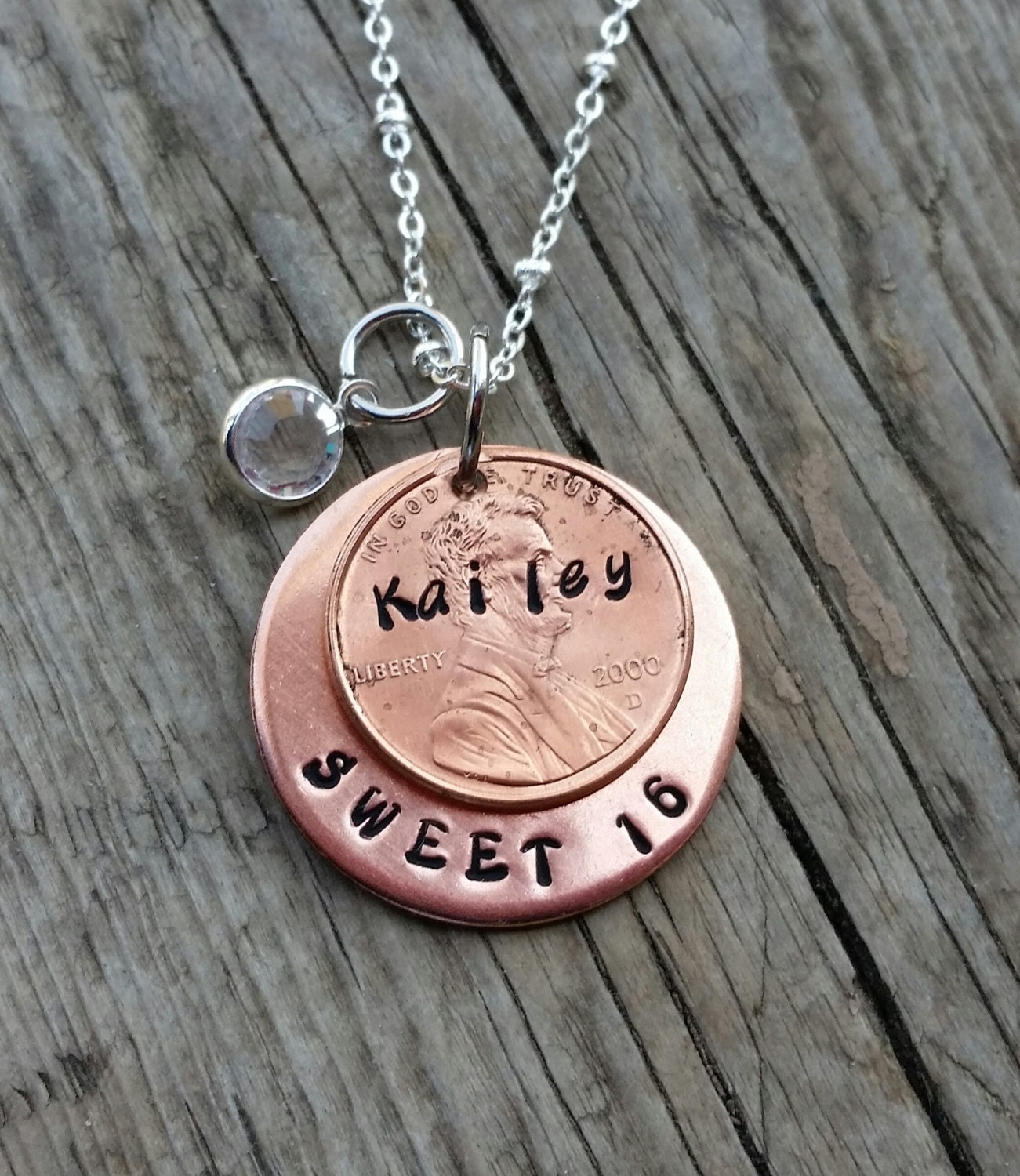 Sweet 16 Necklace Birthday Gift 16th Birthday Sweet By