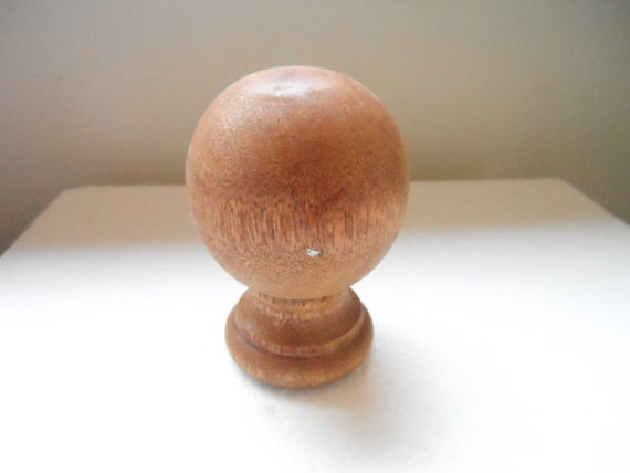 Amazon.com: Maple Round Wood Finials: Home Improvement