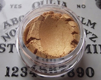 Planchette - Ouija Board Collection - Satin Gold Shimmer Eyeshadow Organic Vegan