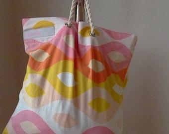 Wavy Baby shopping bag