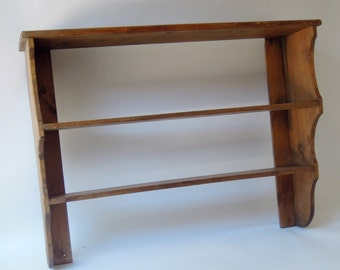 Antique English Pine Shelf