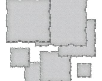 Spellbinders - Nestabilities - Art Deco - Fairmont Labels