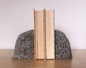 Raw Granite Bookends
