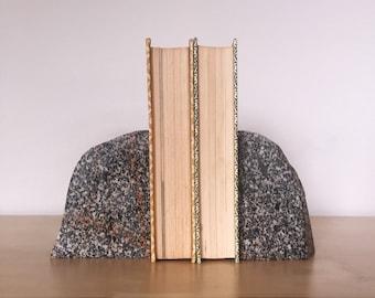 Raw Granite Bookends