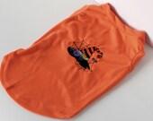 Halloween T-Shirt - Dog Shirt - Pet Shirt - Embroidered Dog  Shirt - Puppy Shirt - Holiday Dog Shirt - Small Dog Shirt