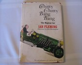 "Vintage Book, ""Chitty, Chitty Bang Bang, The Magical Car, By Ian Fleming"