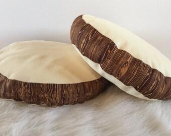 Log Cushions - large