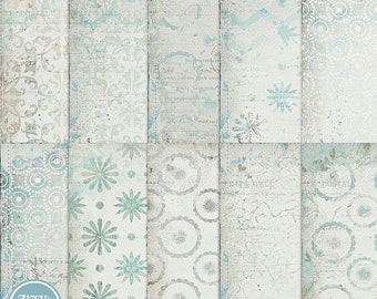 ON SALE Digital blog and scrapbooking background , papers pack  vol.71 - INSTANT Download