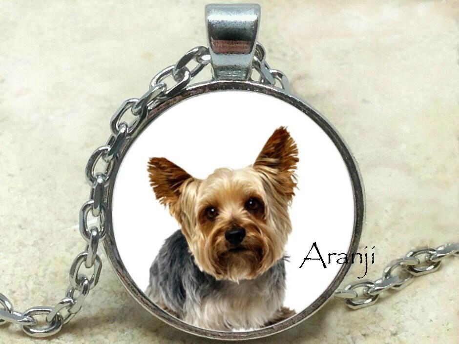 yorkie pendant yorkie necklace puppy pendant