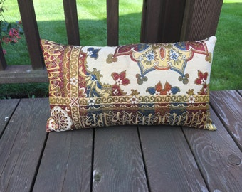 vintage Turkish Indian embroidery pillow