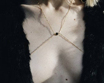 14kt Gold Filled Body Chain