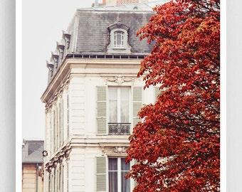 Paris photography - Autumn - Giclee Art Print,Home decor,Fine art photography,Paris decor,Art print,Art Poster,Gift ideas,Wall decor
