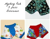 Mystery Pack of Childrens Boxerwear - 3 Pairs Custom Made to Order
