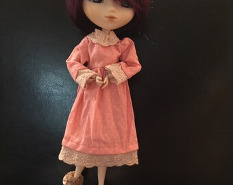 Dress and bloomers for pullip or Blythe