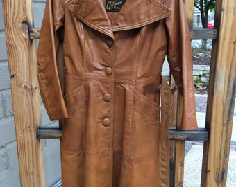 Stunning leather jacket by Altman of Dallas