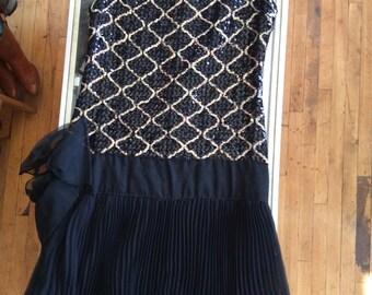 Drop-waist 60's dress
