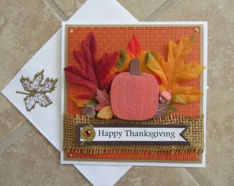 THANKSGIVING Fall Cards