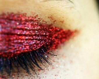 RED Cosmetic Glitter for Makeup, Eye Shadow, Lips, Nail Polish, Body Shimmer & Hair Sparkle (A015)