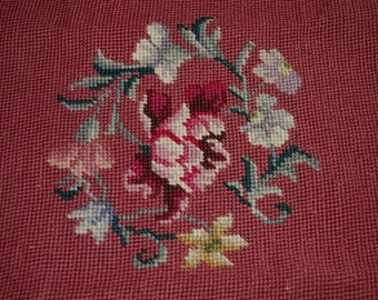 Needlepoint Floral 15 x 15