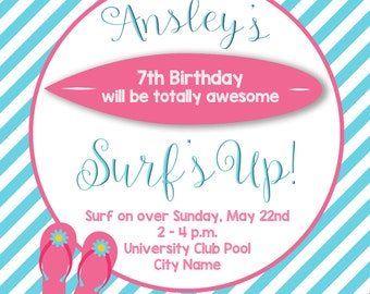 Surfer Girl Party!