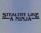 "Stealthy Like a Ninja multichrome holographic nail polish 15 mL (.5 oz) from the ""Curiosity Door"" Collection"