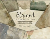Stained - Fine Art Textures, Photoshop Textures
