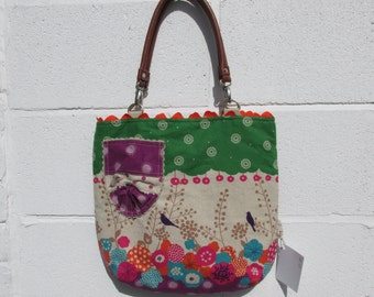 Fabric tote bag 439