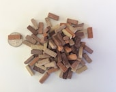 MasonryMiniatures by Rex- Loose used miniature Brick - 100 count- shades of Red, Sedona, Sand, Rose / 1:12 scale