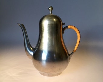 Daalderop Vintage Royal Pewter Teapot Made in Holland