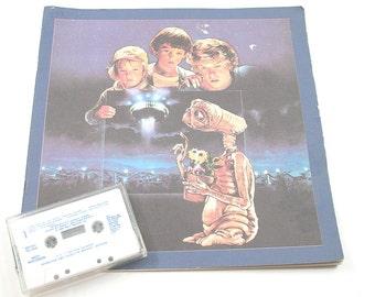 E.T. Book and Cassette Tape