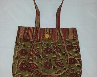 Hand Block Printed Fabric Bag MF510