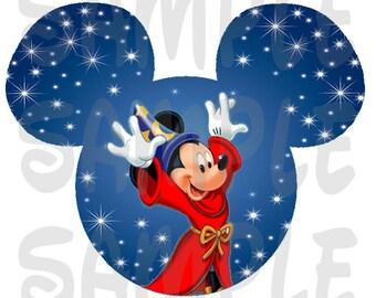 INSTANT DOWNLOAD // Sorcerer Mickey // Fantasia // DIY Prinatable