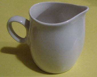 Vintage Franciscan Whitestone Ware Creamer in Cloud Nine Mid Century Modern