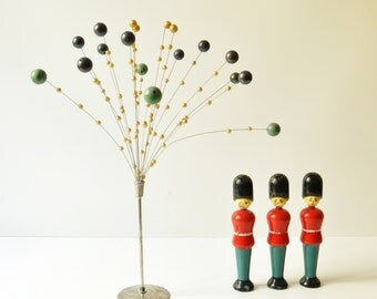 Vintage Mobile Ball Sculpture - Kinetic Flower - Midcentury Modern - Christmas Decoration