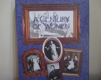 first edition A Century of Women  women of the 20th century American history