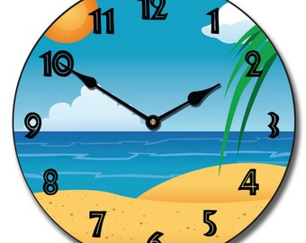 Beach Wall Clock 3