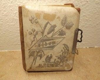 Small Antique Photo Album
