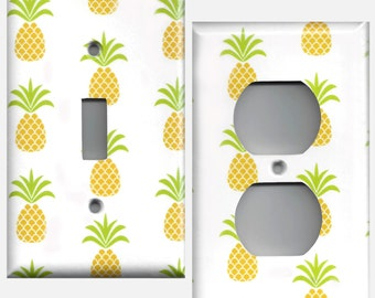 Pineapples Light Switchplates and Wall Outlet Covers Home Decor Lighting Accents Light Switch Cover