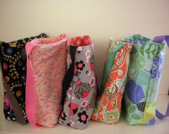 Tote bag / purse with pockets & magnetic closure