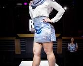 Acamar - High Waisted Galaxy Skirt